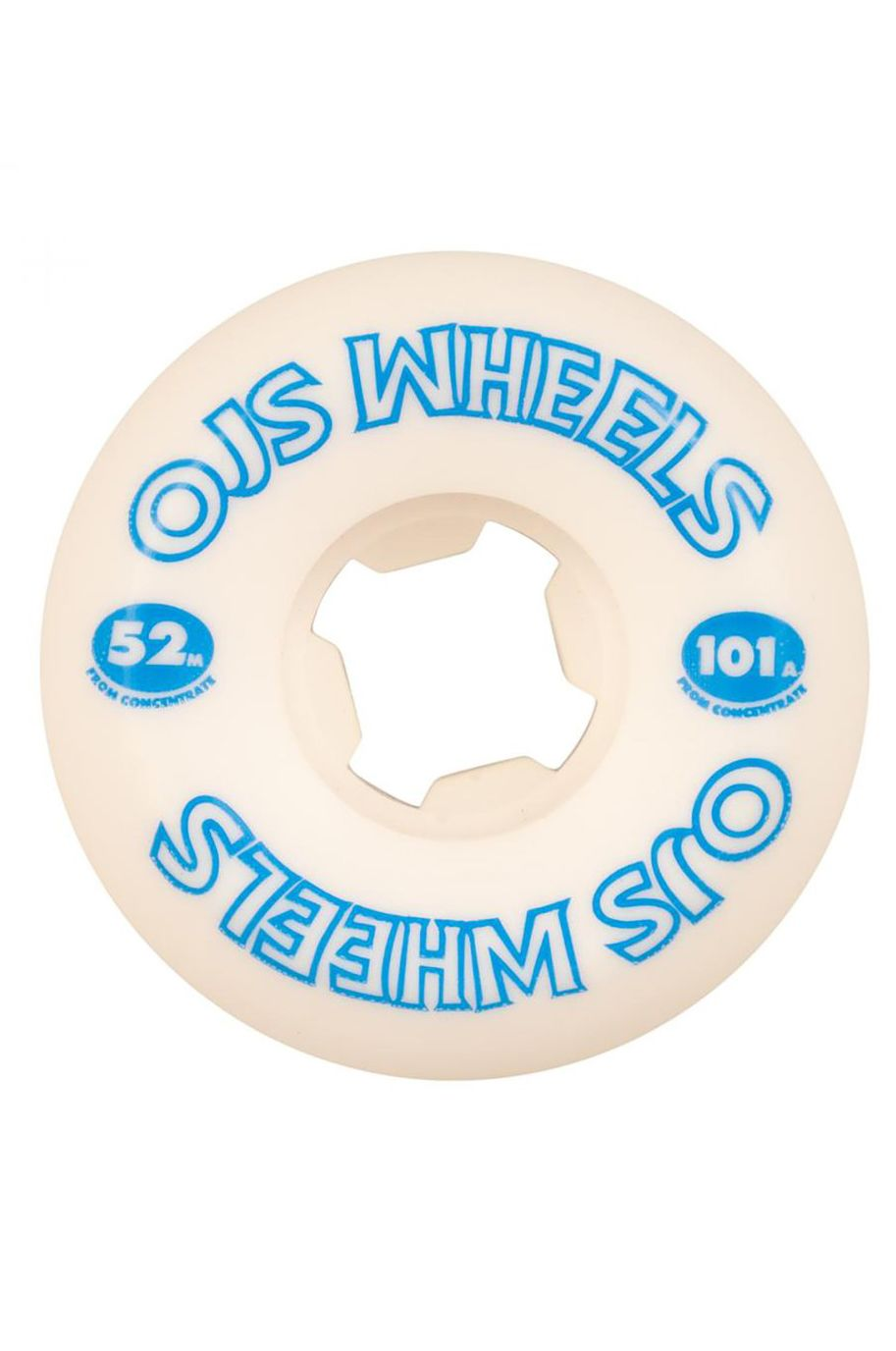 Rodas OJ Wheels 52MM FROM CONCENTRATE HARDLINE 101A White