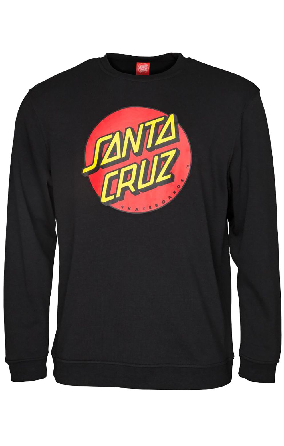 Sweat Basica Santa Cruz CLASSIC DOT Black