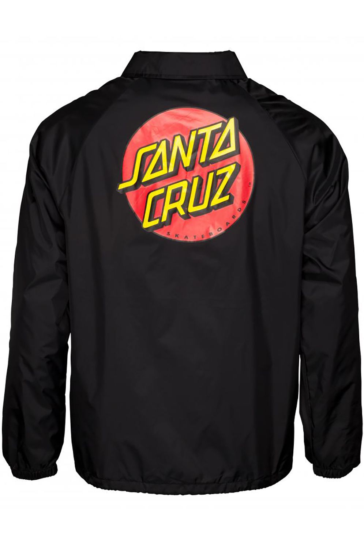 Corta Vento Santa Cruz CLASSIC DOT COACH Black
