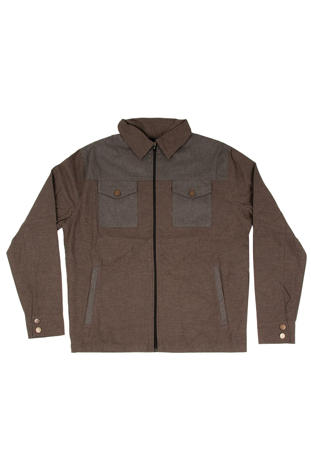 Camisa Otherwise L007 Brown Grey