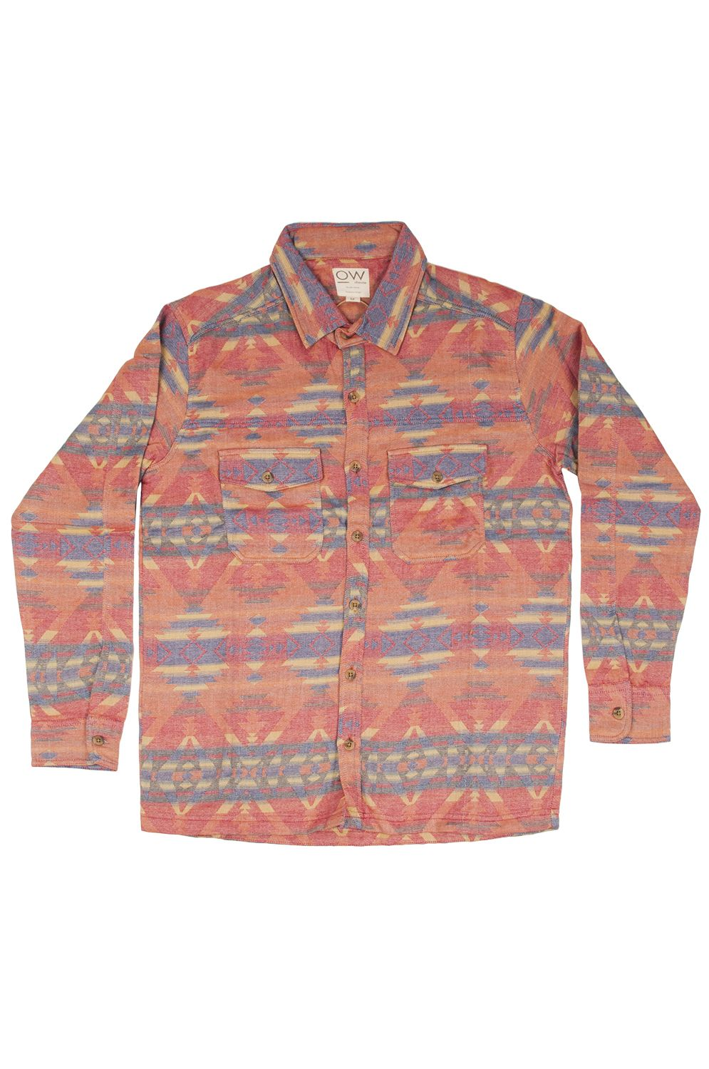 Camisa Otherwise DP005 Light Red