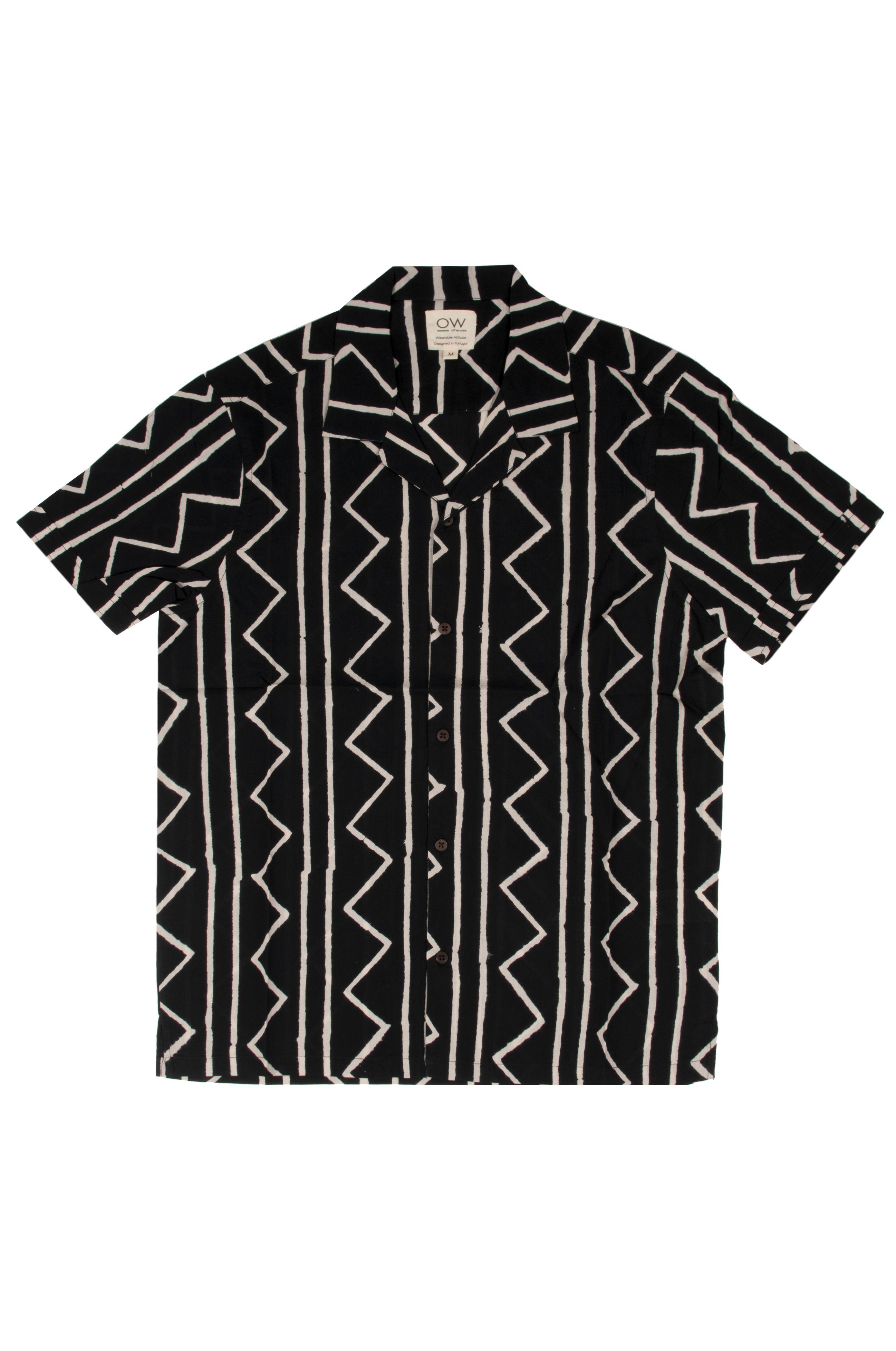 Camisa Otherwise J041 Black/White
