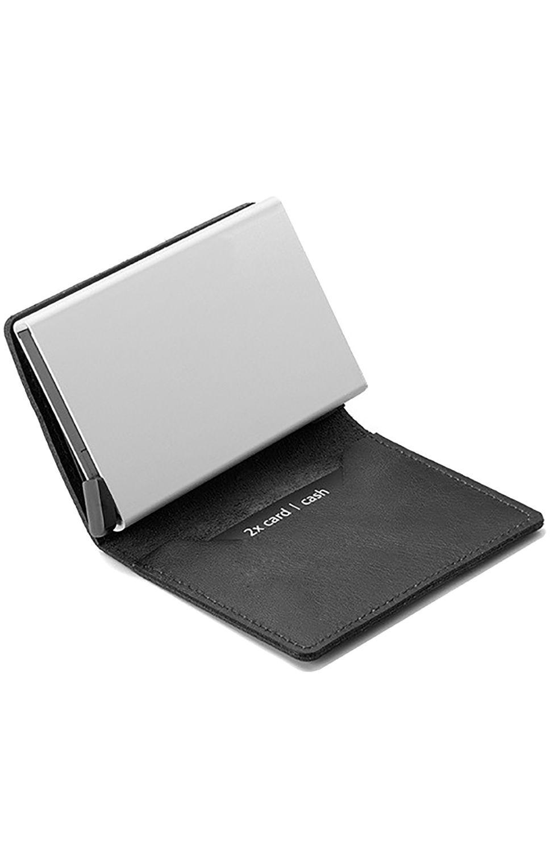 Secrid Leather Wallet SLIMWALLET ORIGINAL Black