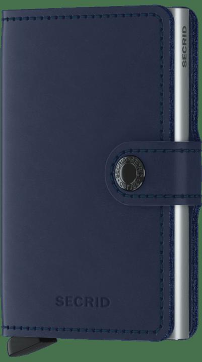 Secrid Leather Wallet MINIWALLET ORIGINAL Navy