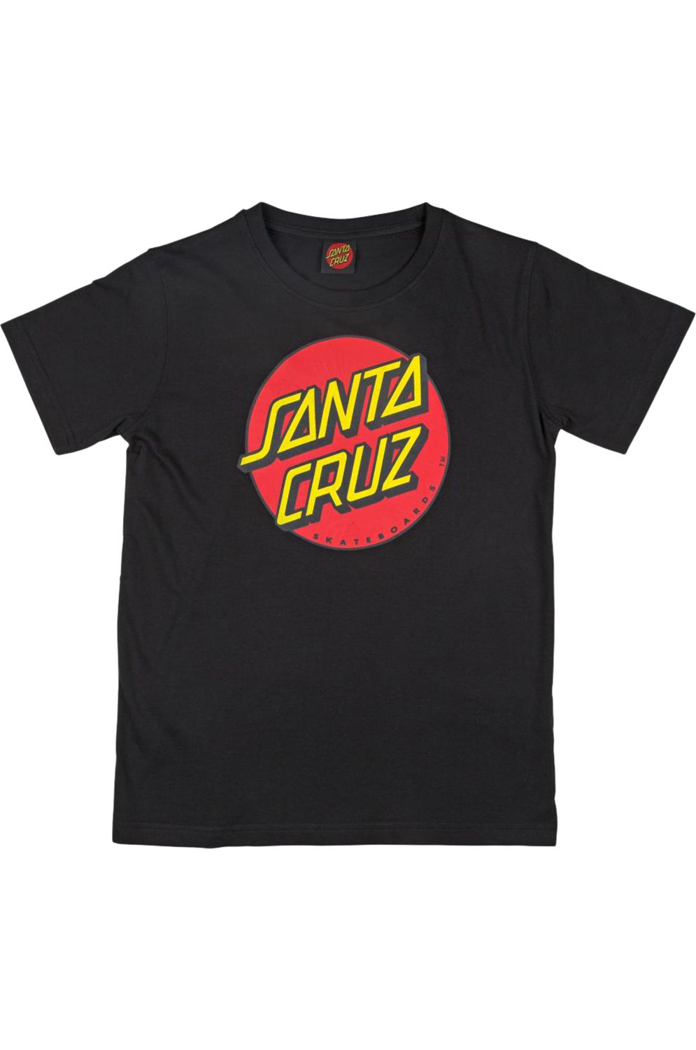 T-Shirt Santa Cruz CLASSIC DOT Black