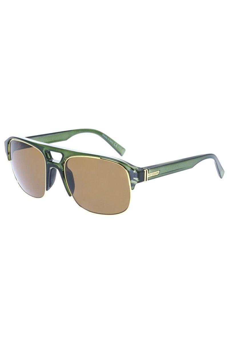 Oculos VonZipper SUPERNACHT Green Translucent / Bronze