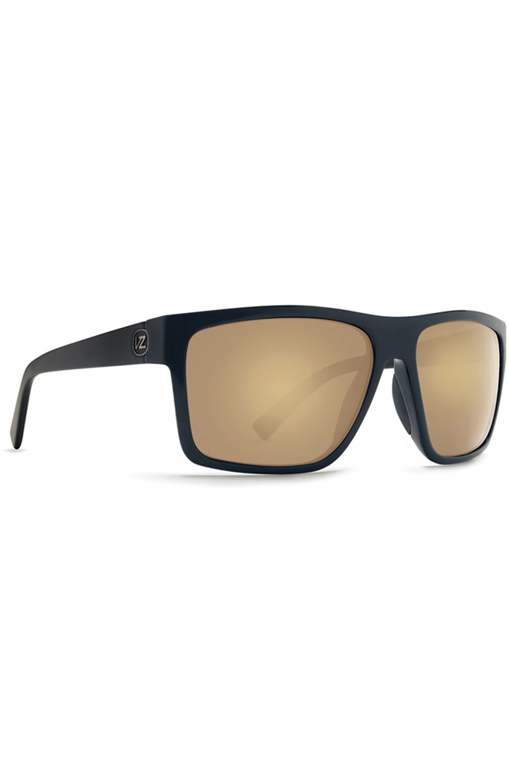 Oculos VonZipper DIPSTICK Black Satin-Gold / Grey