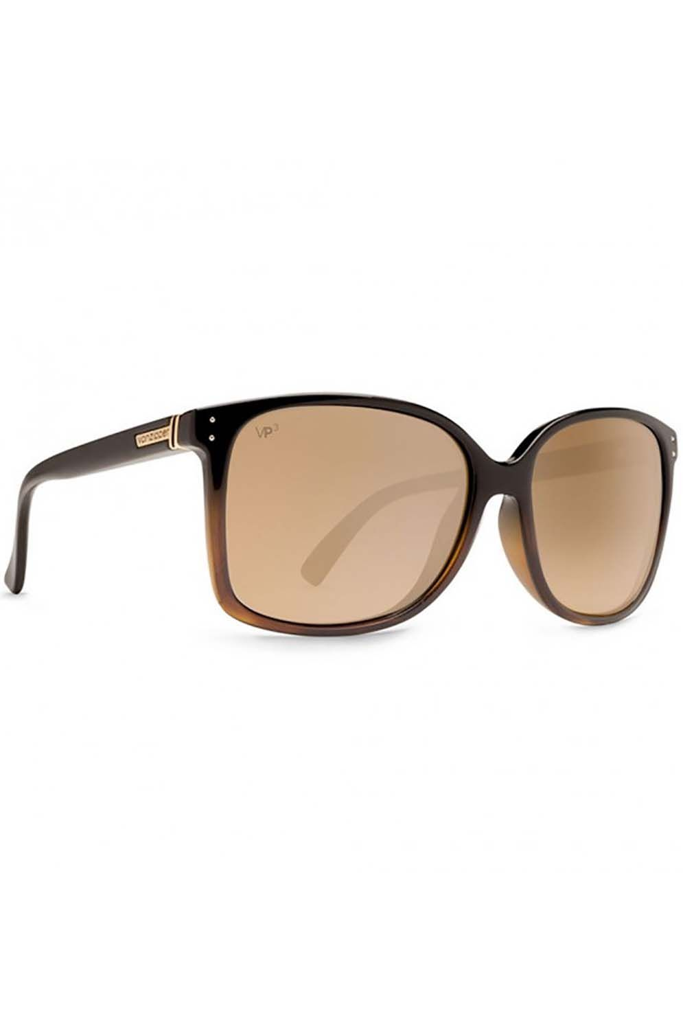 Oculos VonZipper CASTAWAY Muddled Fade Tan / Gold Glo Polar
