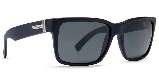 VonZipper Sunglasses ELMORE Black Steel / Silver Grey Chrome