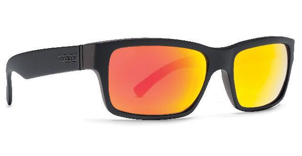 Oculos VonZipper FULTON Black Satin / Lunar Chrome