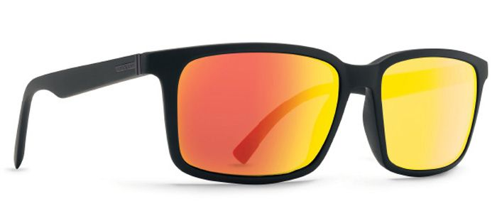 Oculos VonZipper PINCH Black Satin / Lunar Chrome