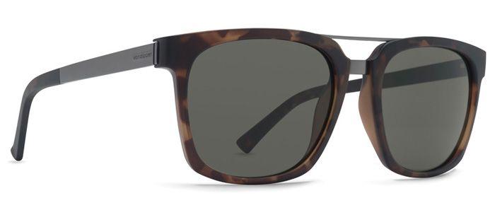 VonZipper Sunglasses PLIMPTON Tortoise Satin / Vintage Grey