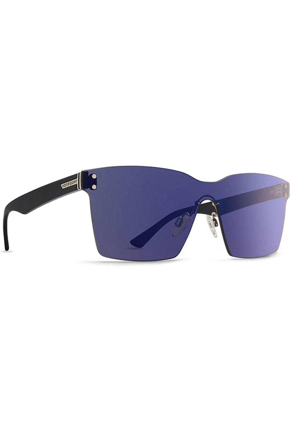 Oculos VonZipper ALT LESMORE Black Gloss (arms) / Flash Chrome Blue