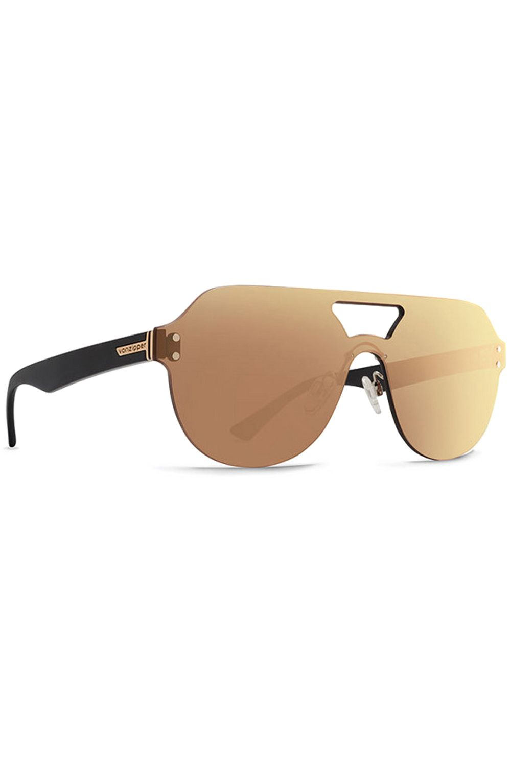 Oculos VonZipper ALT PSYCHWIG Black Gloss (arms) / Flash Chrome Gold