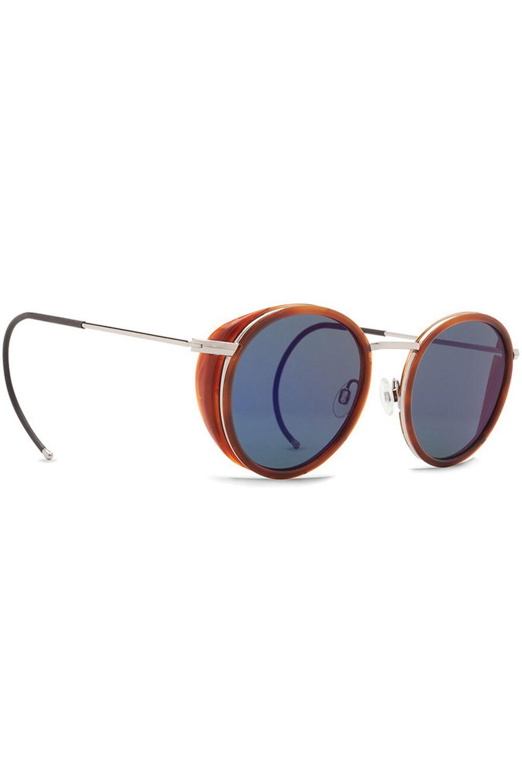 Oculos VonZipper EMPIRE (FCG) Havana Tortoise / Vintage  Blue Flash Chrome