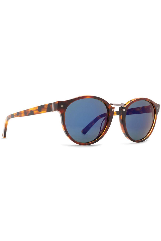 Oculos VonZipper STAX (FCG) Havana Tortoise / Vintage  Blue Flash Chrome