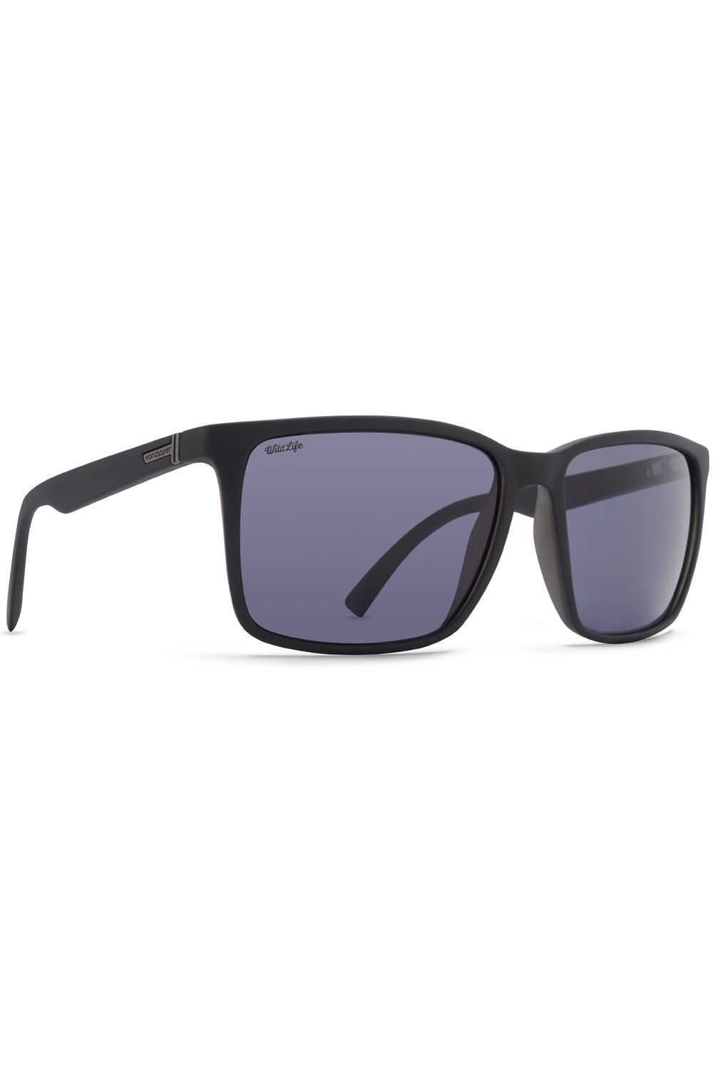 Oculos VonZipper LESMORE WILDLIFE Black Satin / Wildlife Vintage Grey Polar