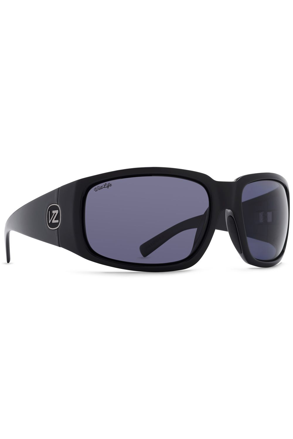 Oculos VonZipper PALOOKA WILDLIFE Black Gloss / Wildlife Vintage Grey Polar