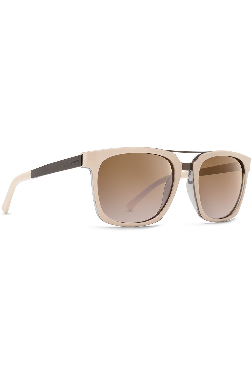 Oculos VonZipper PLIMPTON Nude Crystal Tort Copper / Silver Flash Brown Gradient