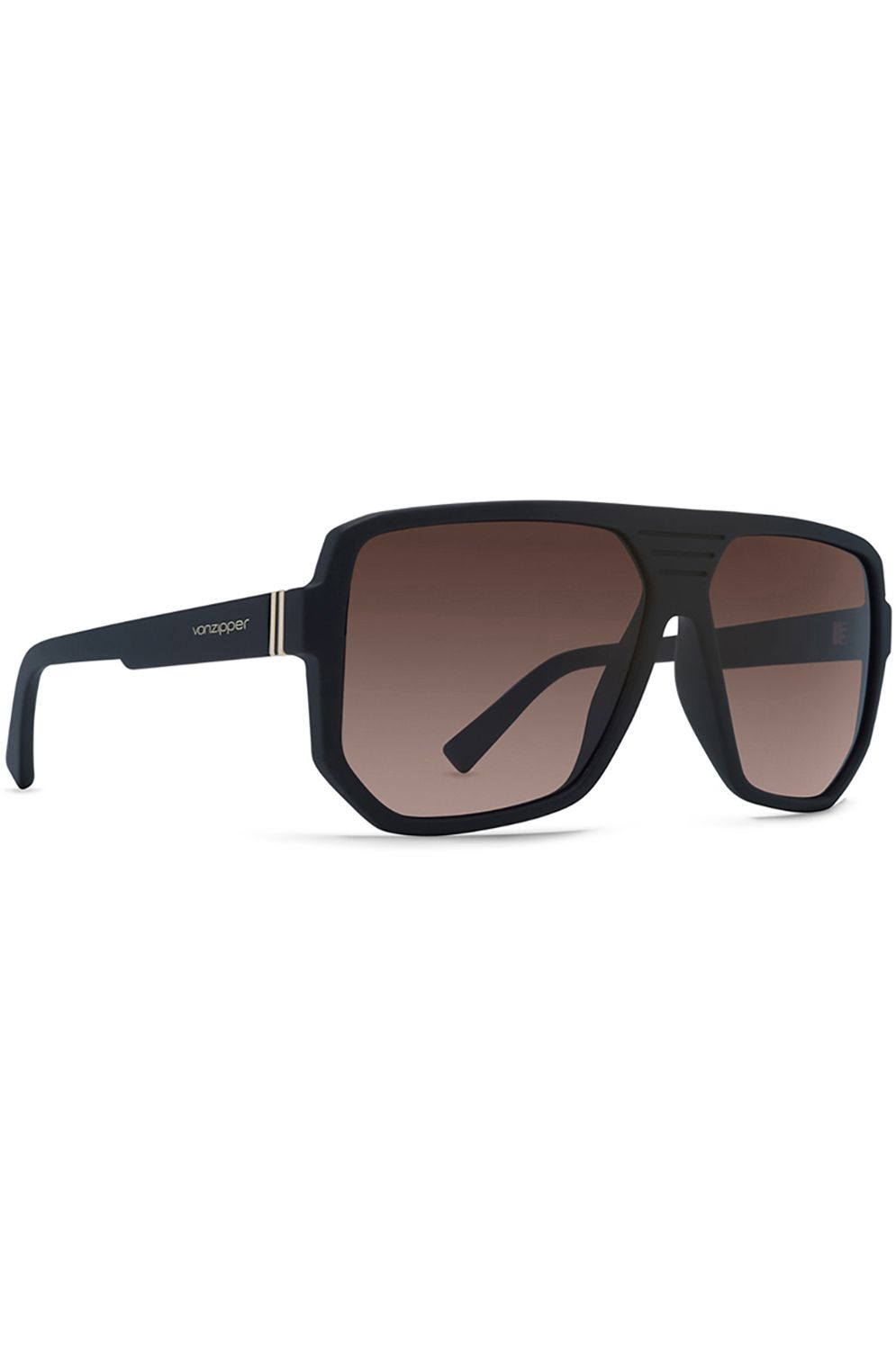 Oculos VonZipper ROLLER Black Satin / Bronze Gradient