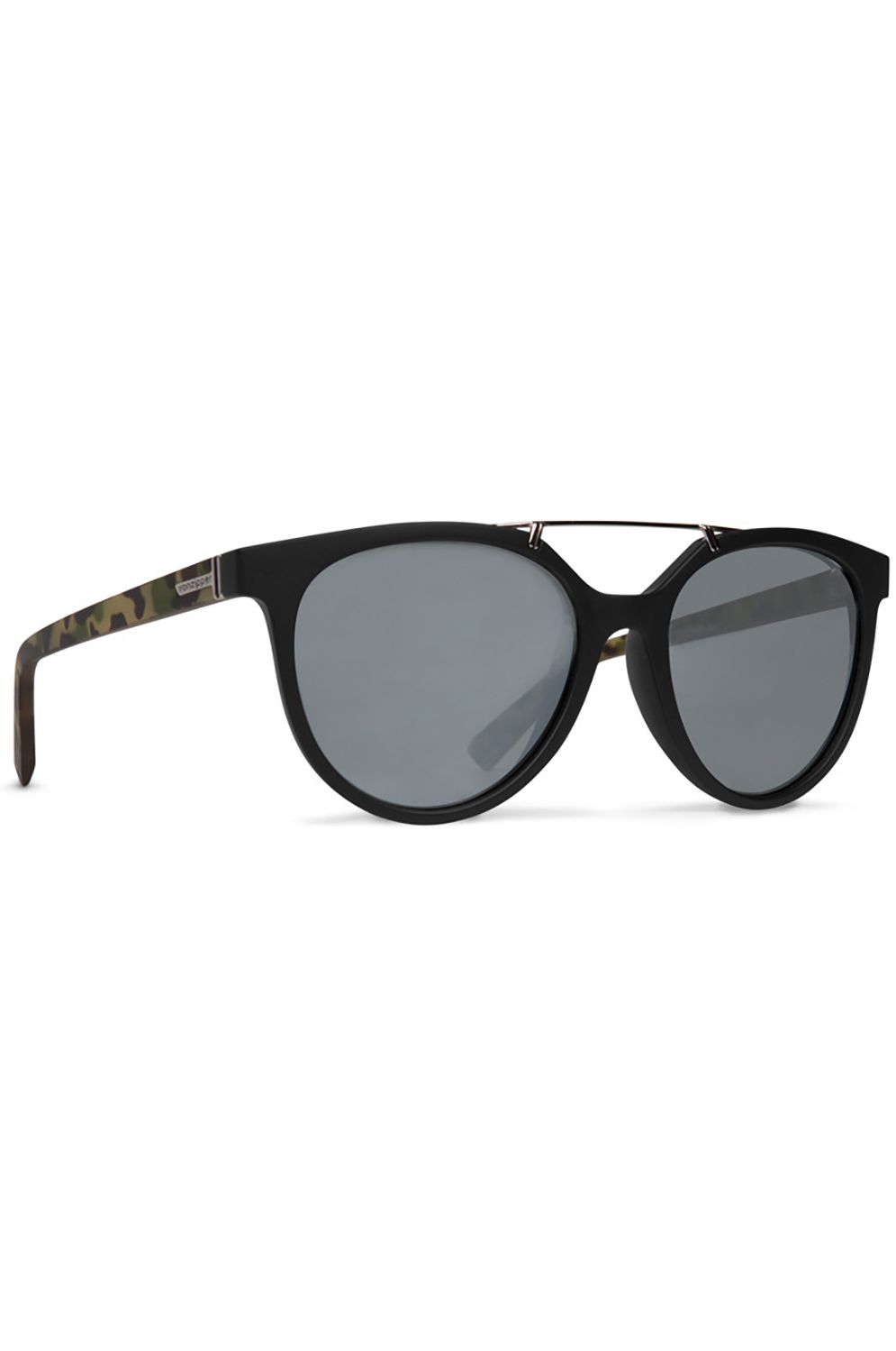 Oculos VonZipper HITSVILLE Black Satin Camo / Grey Silver Flash Chrome
