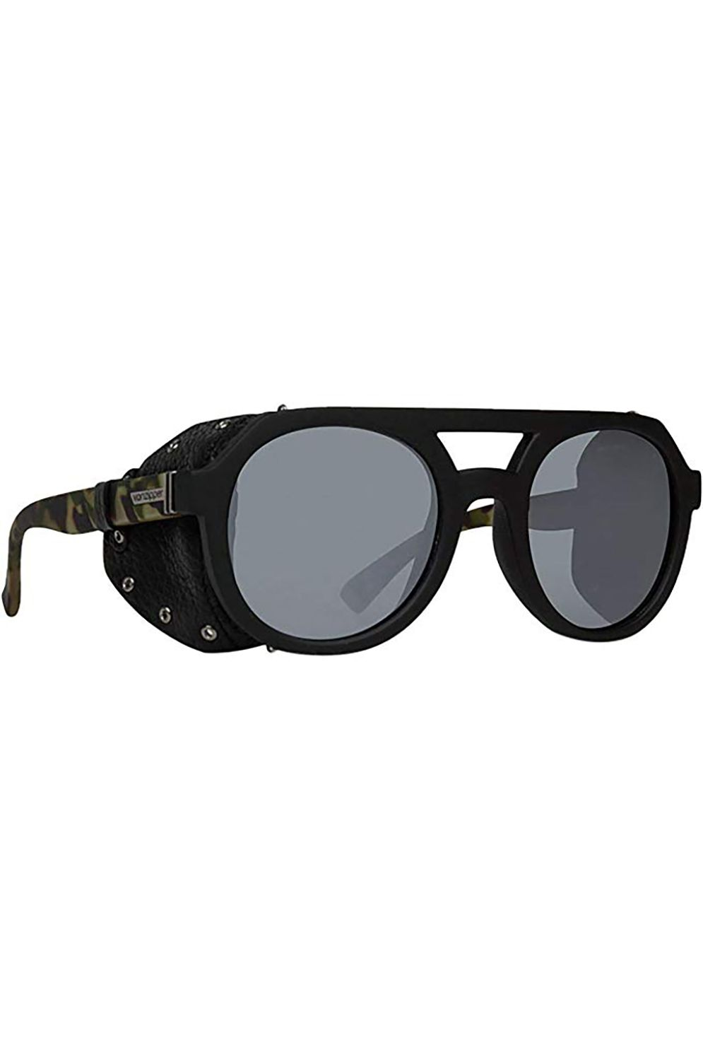 Oculos VonZipper PSYCHWIG Black Satin Camo / Grey Silver Flash Chrome
