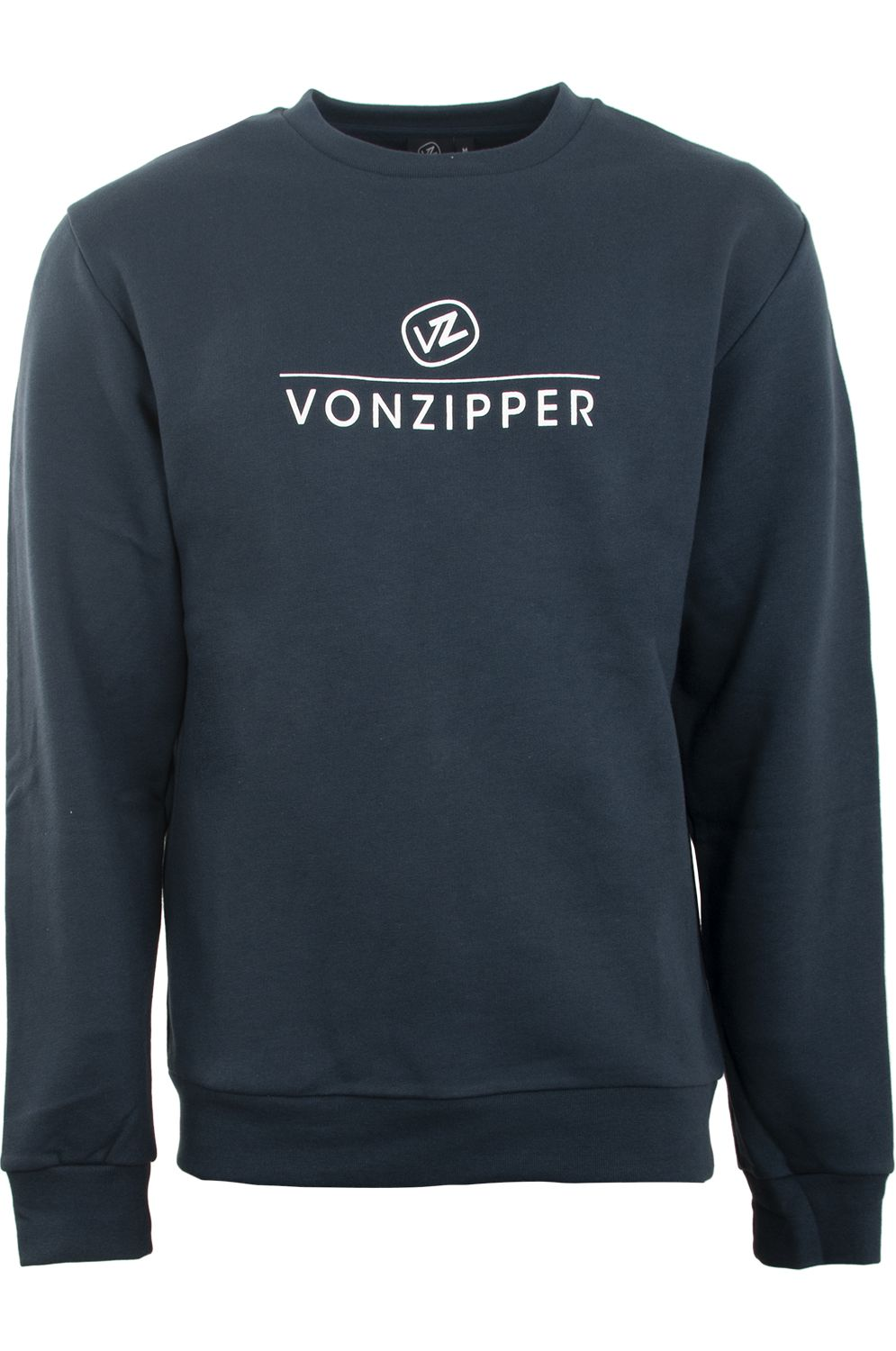 Sweat Basica VonZipper STACKED Navy