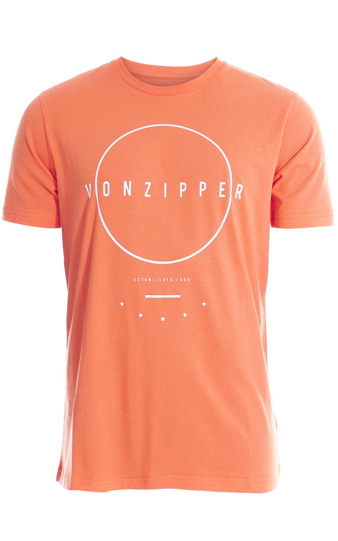 T-Shirt VonZipper HOW LING Coral