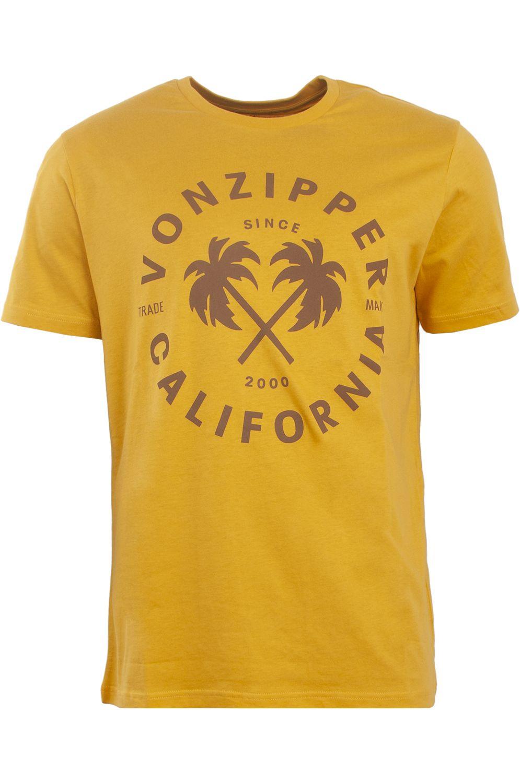 T-Shirt VonZipper MELROSE Mustard