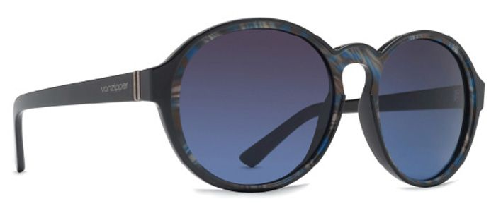 Oculos VonZipper LULA Black Color Swirl / Brown Blue Gradient