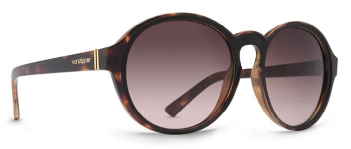 Oculos VonZipper LULA Tort Black Satin / Brown Gradient