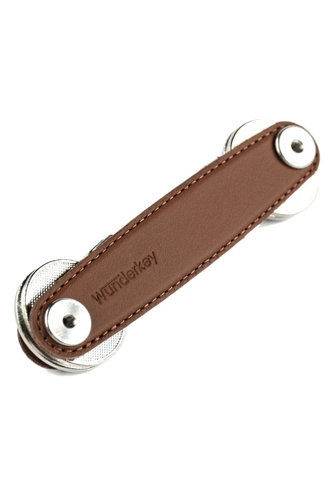 Wunderkey Keychain LEATHER Marone