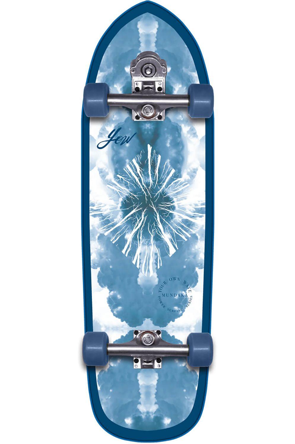 "Yow Surf Skate MUNDAKA 32"" POWER SURFING SERIES Blue"