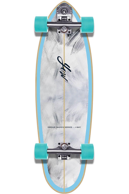 "Yow Surf Skate J-BAY 33"" DREAM WAVES SERIES Sky Blue"