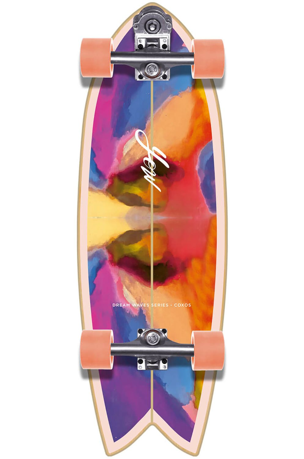 "Yow Surf Skate COXOS 31"" DREAM WAVES SERIES Rainbow"