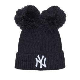 55fa7ee03aa96 New Era Beanie DBL POM CUFF WMNS NEYYAN NAVY New York Yankees
