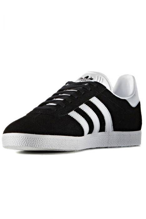 2e5474552 Adidas Shoes GAZELLE Core Black White Gold Met.