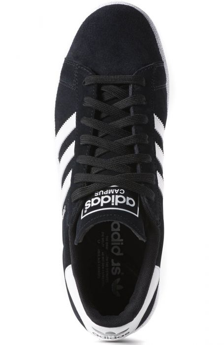 6123cf71d Tenis Adidas CAMPUS Core Black Ftwr White Chalk White