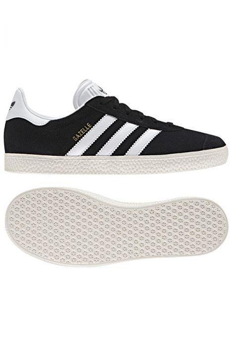 59f181c1ffc Adidas Shoes GAZELLE J Core Black Ftwr White Gold Met.