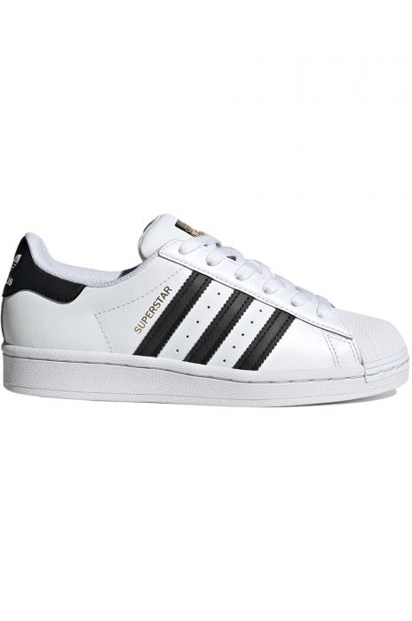 Tenis Adidas SUPERSTAR J Ftwr WhiteCore BlackFtwr White