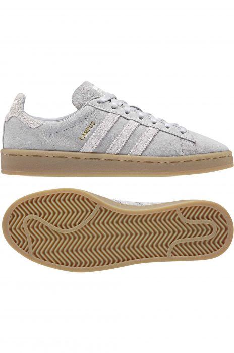 8f766ff1c Adidas Shoes CAMPUS Grey Two F17/Grey One F17/Gum4 39-1/3