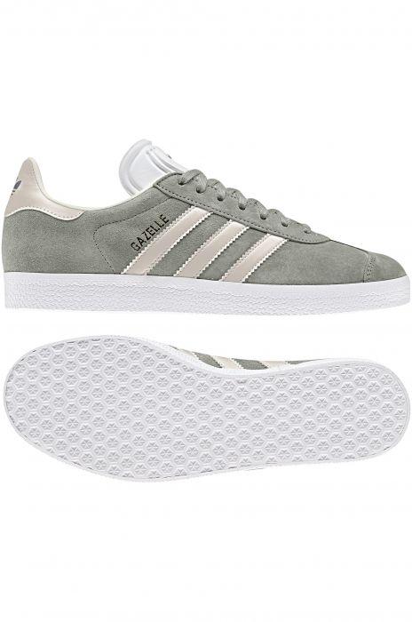 a369cc14529 Adidas Shoes GAZELLE Ash Silver Clear Brown Ecru Tint S18