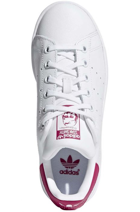 8384e0bd5c2 Tenis Adidas STAN SMITH J Ftwr White Ftwr White Bold Pink
