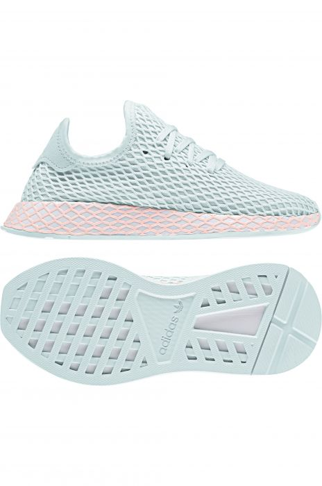 5a008cdd5 Adidas Shoes DEERUPT RUNNER Ice Mint Ftwr White Clear Orange
