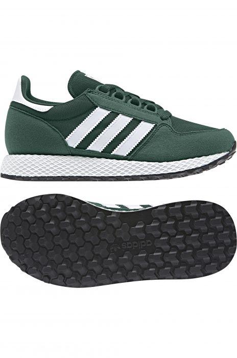 sale retailer 81f26 a6aca Tenis Adidas FOREST GROVE Collegiate GreenFtwr WhiteCollegiate Green