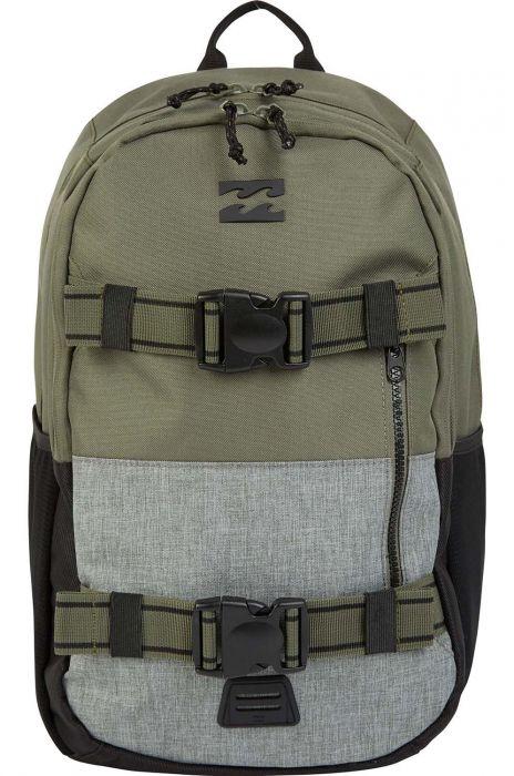 24954c62321e7 Billabong Backpack COMMAND SKATE Military