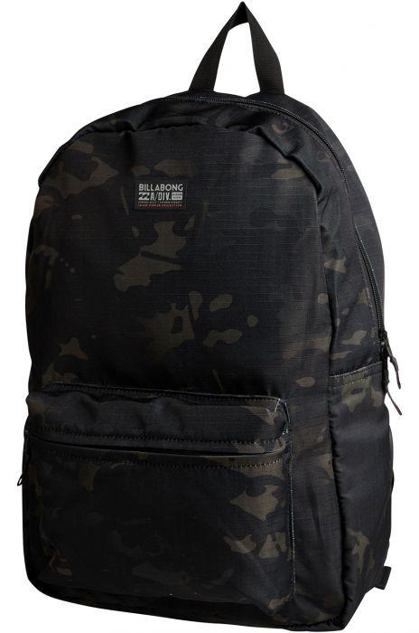 96dd094c6d470 Billabong Backpack ALL DAY MULTICAM ADVENTURE DIVISION Black Camo