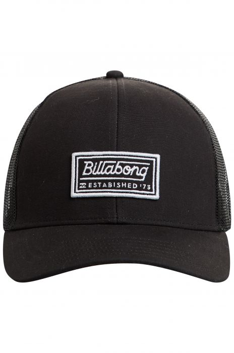 3a8c7eb26dd4ae Bone Billabong WALLED TRUCKER Black/White