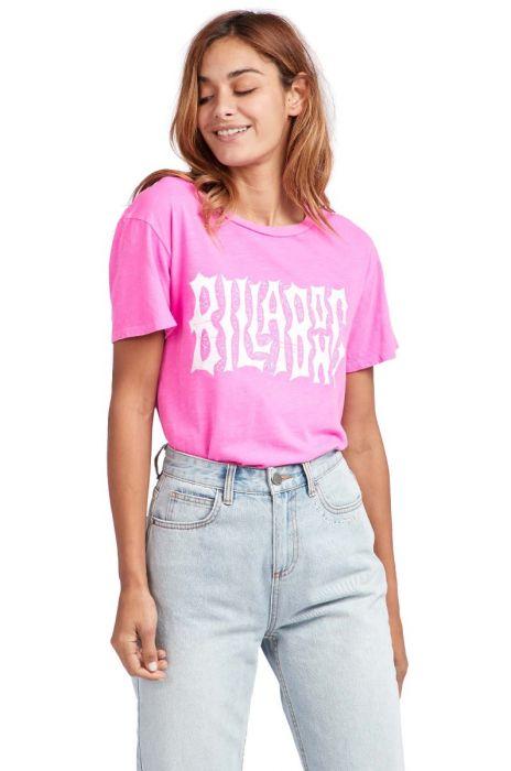 79f8acfeed398 T-Shirt Billabong IM A REBEL Rebel Pink