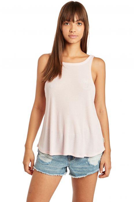 dabd63d3 Billabong T-Shirt Tank Top V BACK PARADISE COVE Pink Sand